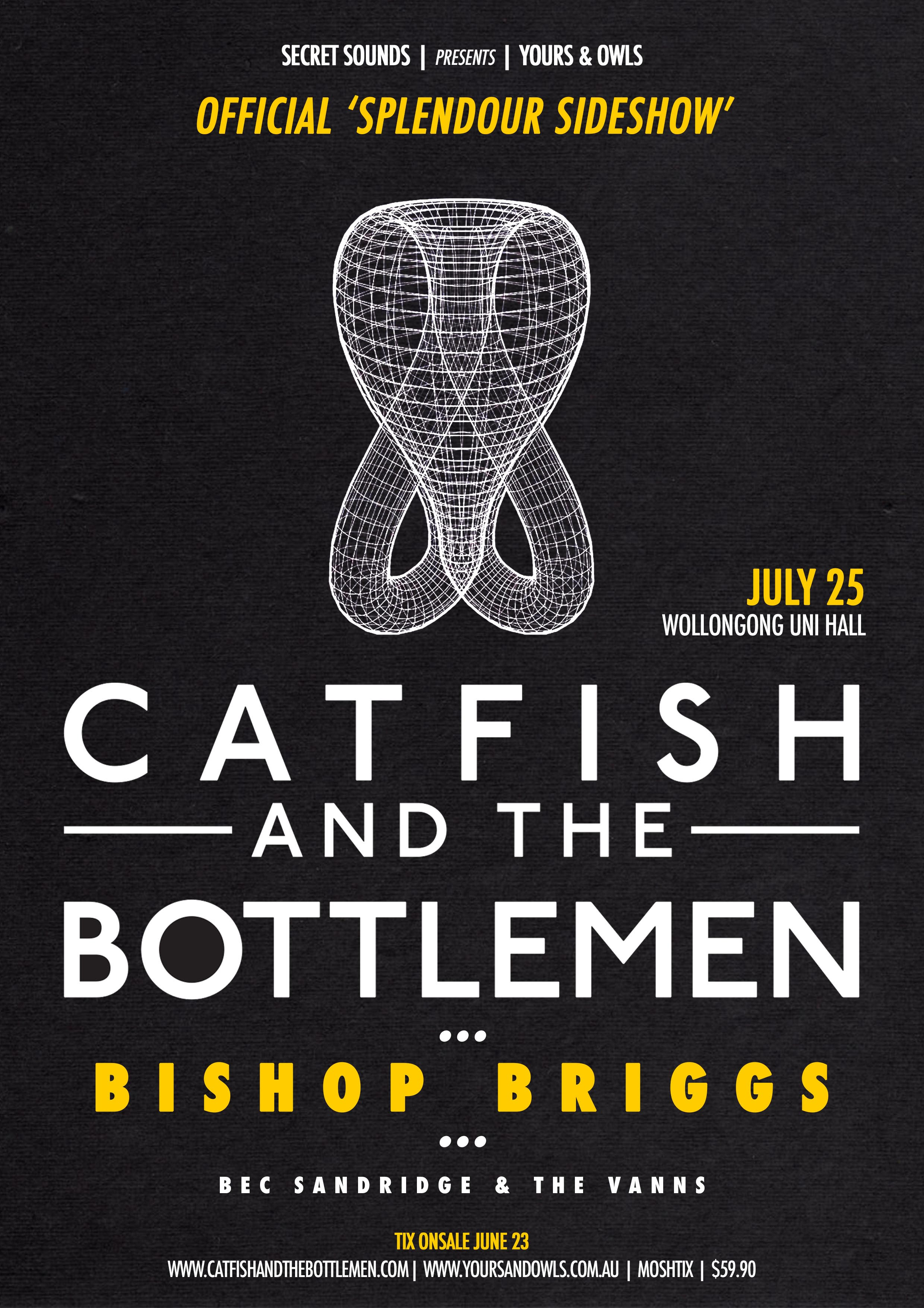 Catfish and the bottlemen bishop briggs guests announce catfish and the bottlemen bishop briggs guests announce official splendour sideshow w bec nvjuhfo Choice Image