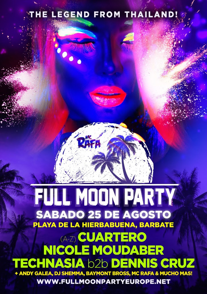 Full Moon Party arrives to Spain from Thailand | The Partae