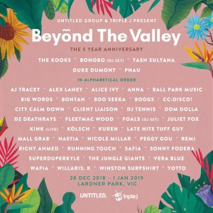 Beyond The Valley 2018