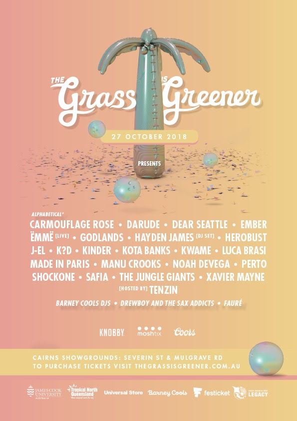 The Grass is Greener Festival 2018 - Cairns Showgrounds