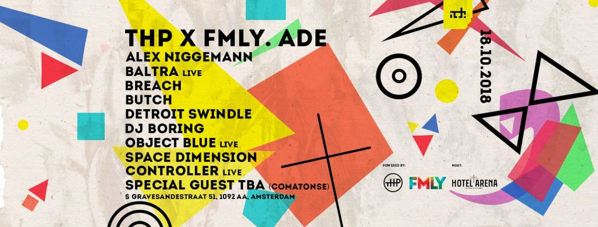 ADE News | DJ Boring, Space Dimension Controller, Object Blue, Baltra, Detroit Swindle, Butch and more announced for The Hidden People x FMLY