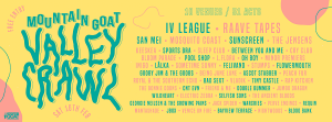 The Mountain Goat Valley Crawl Timetable is HERE