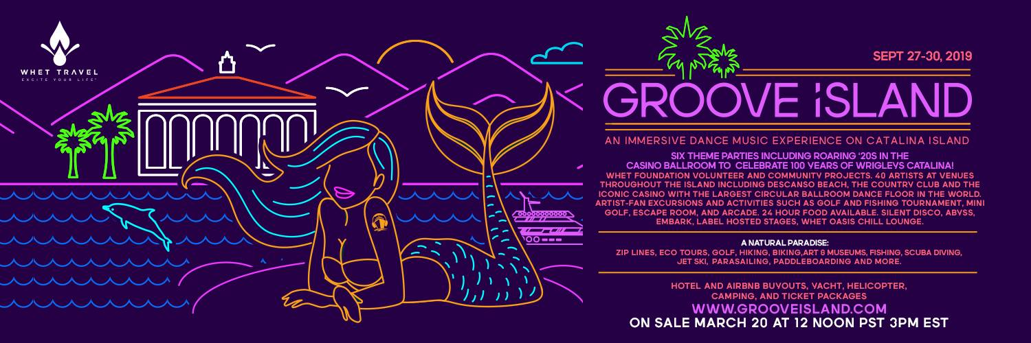 Announcing Groove Island 2019: A first of it's kind immersive dance