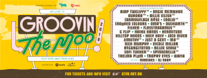 The Groovin the Moo 2019 line up is as stocked as a mini bar fridge! It's time to pack your bags and get excited! We'll once again be crusin' down the great open road, making pit stops in six regions around Australia, over three consecutive weekends – all while enjoying incredible tunes, seriously good times, and taking those unbeatable Australiana views along the way. So, without further ado, it's time to welcome our guests to Motel Groovin 2019! In alphabetical order; A$AP TWELVYY (USA)   ANGIE MCMAHON   AURORA (NOR) BILLIE EILISH (USA)   CARMOUFLAGE ROSE   COOLIO (USA) CROOKED COLOURS   DMA'S   DUCKWRTH (USA) FISHER   FLOSSTRADAMUS (USA)   G FLIP HAIKU HANDS   HERMITUDE   HILLTOP HOODS HOLY HOLY   JACK RIVER   JUST A GENT   MØ (DNK) NICK MURPHY   NICOLE MILLAR   REGURGITATOR REJJIE SNOW (IRL)   SOFI TUKKER (USA)   SPINDERELLA (USA) THELMA PLUM   TOKiMONSTA (USA)   TROPHY EYES With hosts; MARSHES   DJ NKAY With triple j Unearthed, Fresh Produce artists and Community programs to be announced! Our GTM 2019 line up has something for everyone – from new favourites like Jack River and Haiku Hands to flat out legends and GTM alumni Hilltop Hoods, Hermitude and Regurgitator. The triple j Hottest 100 was packed to the rafters with GTM artists including Fisher (#2 'Losing It'), Billie Eilish (#8 'when the party's over', #17 'lovely', #46 'you should see me in a crown') G Flip (#38 'About You', #62 'Killing My Time') and Angie McMahon (#49 'Missing Me') with Thelma Plum, Hilltop Hoods, DMA'S and Trophy Eyes taking out numerous spots on the countdown. Aside from Hottest 100 (and world) dominator Billie Eilish (USA), there's a stack of guests joining us from shores afar. Female powerhouses Aurora (NOR) and MØ (DNK) will bring audible joy to your earholes, while Sofi Tukker (USA), TOKiMONSTA (USA) and the legendary Spinderella (USA) will keep you dancing all day and night long. Get your 'Gangsta's Paradise' on with Coolio (USA), and keep moving with A$AP Twelvyy (USA), Duckwrt