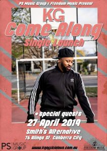KG returns with uplifting new single, 'COME ALONG'
