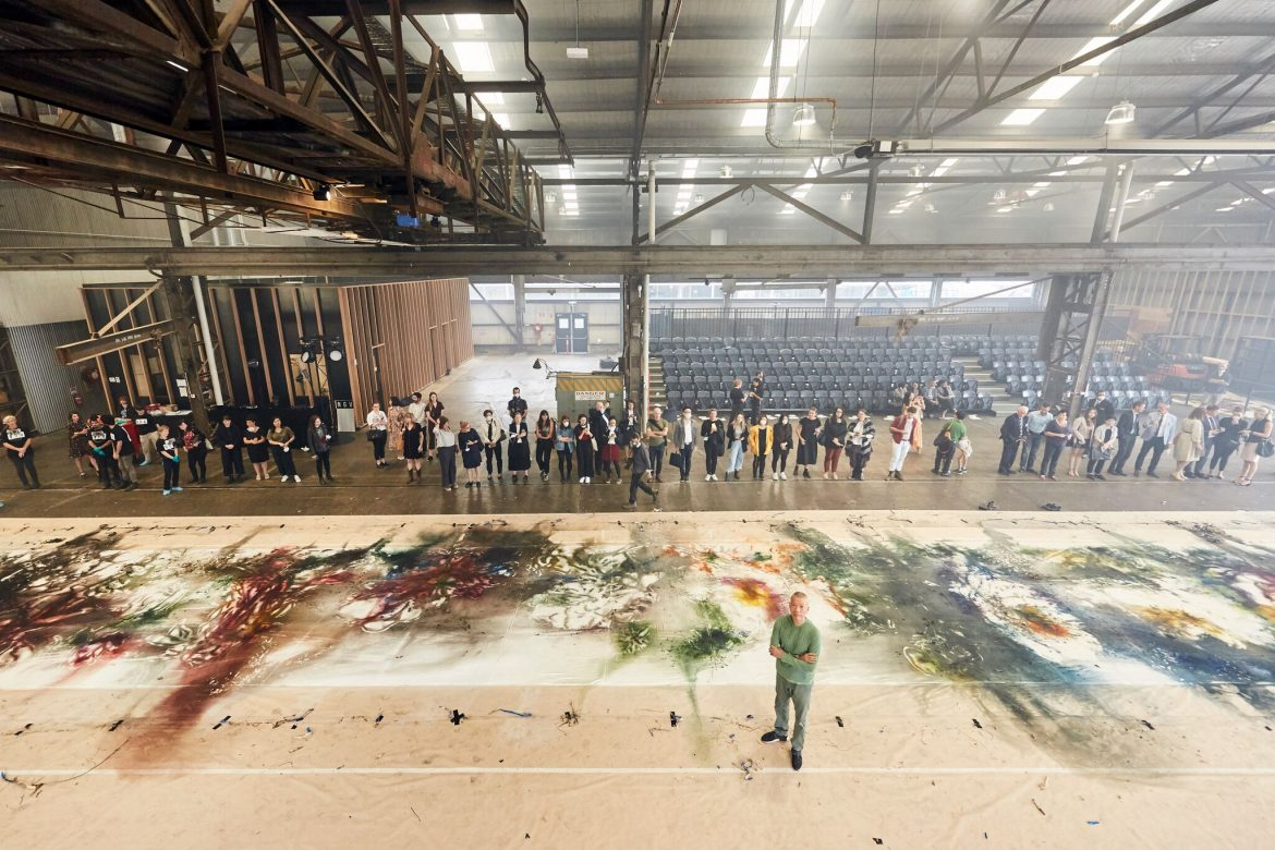 Cai Guo-Qiang creates artwork from fire and gunpowder: NGV Melbourne Winter Masterpieces  24 May 2019 – 13 October 2019 | NGV International | Admission fees apply