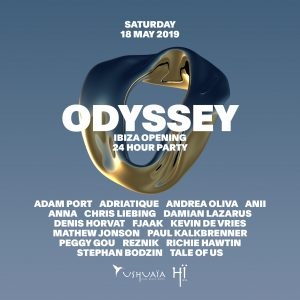 THE NIGHT LEAGUE REVEAL LINE-UP FOR 'ODYSSEY' - THE 24-HOUR OPENING PARTY EXTRAVAGANZA AT USHUAÏA AND HÏ IBIZA