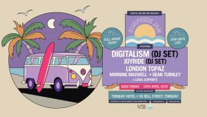 200 FINAL RELEASE TICKETS REMAINING ... BUY NOW http://bit.ly/SSJTix2019 Coastal Jam & UNO Presents SURFSIDE JAM Good Friday | Easter & Rip Curl Pro Long Weekend **Percentage of proceeds being donated to Good Friday Appeal** Fri 19th April, 2019 Torquay Hotel 5PM - LATE Full Venue Event FEATURING Digitalism (DJ Set) Joyride (DJ Set) London Topaz (Live) MorningMaxwell SUPPORTED BY (in alphabetical order): BALTA | Bill Hansen | Callum Robertson | Chook & Moluck | Curtis Judge | Dizzy Daryl | Hudson Watts | House Cat | Insain | Josh Holt | Metwally | PCPS | Sam Meier ~~~~~~~~~~~~~~~~~~ GETTING TICKETS TICKET LINK http://bit.ly/SSJTix2019 ~~~~~~~~~~~~~~~~~~ BIRTHDAY PRESENTS Does your birthday fall on Friday 19th April? Message the page and we'll give you the gift of a complimentary ticket xx ~~~~~~~~~~~~~~~~~~ GETTING HOME We'll be providing a complimentary shuttle bus for wristband holders, taking you to the Geelong CBD. Times to come soon! ~~~~~~~~~~~~~~~~~~ AFTERPARTY The event will run until after 1AM, however, if you're keen for a sea change we'll be hosting an afterparty with our friends at Bloom from 10PM! Catch the complimentary shuttle bus and score yourself $5 off entry by flashing your wristband at the door! More info soon! ~~~~~~~~~~~~~~~~~~ GET SOCIAL Facebook: www.facebook.com/coastaljam Instagram: www.instagram.com/coastaljam_fest Snapchat: www.snapchat.com/add/coastaljam Website: www.coastaljam.com Spotify: https://open.spotify.com/user/rtbwnwj55xo1bom5u2o9jgne3?si=8M0UXSugTvyeRAYzoghHXg Spotify 2019 Playlist: https://open.spotify.com/user/rtbwnwj55xo1bom5u2o9jgne3/playlist/1Qht75V8T0yFdLwRMVBmuO?si=cDKaZ9PYTSC-Bnd2cryAIA Email: hello@coastaljam.com ~~~~~~~~~~~~~~~~~~ Need accommodation? Follow the link below and get a $30 discount on the booking price! --> https://www.booking.com/s/34_6/6bdd311c ~~~~~~~~~~~~~~~~~~ Strictly 18+ ~~~~~~~~~~~~~~~~~~ Summer is over, the days are getting shorter but the vibes are getting much, much higher. After a record-bre