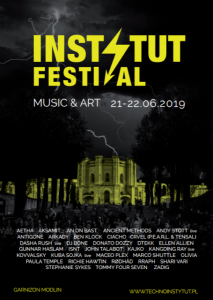 The first artists of the Festival 2019 Music & Art in Garnizon Modlin were announced in mid-January. Among the undisputed legends and masters of the genre, such as Donato Dozzy, Ben Klock or Richie Hawtin, we will see a whole range of exceptional artists, including Ancient Methods, Tommy Four Seven, Andy Stott, Kangding Ray and Marco Shuttle, as well as a strong representation of the Polish electronic scene, like Olivia , DTEKK, ISNT or Aksamit. The second announcement confirms that the Instytut does not slow down the pace and the upcoming edition will delight lovers of both melodic techno and strong sounds. The line up is joined by the well known and appreciated worldwide Maceo Plex and a strong representation of German electronics, among them one of the most iconic women in the techno world - Ellen Allien and RØDHÅD. Fans of strong and raw sounds will surely enjoy the performances of Paula Temple, undoubtedly one of the most interesting representatives of heavy playing, Zadig and the CRVEL collective, which includes P.E.A.R.L. and Tensal, which we will have the chance to see in action for the first time in Poland! On the other side of the musical pole we have John Talabot and DJ Bone, masters of building an atmosphere that hypnotizes the audience. Garnizon Modlin (The Modlin Garrison) is unique on a global scale - the longest building in Europe and the second largest in the world. The spectacular fortress is located in the very heart of Poland, at the confluence of two rivers: the Vistula and the Narew, in the immediate vicinity of picturesque sandy beaches hidden among forests and the phenomenal ruins of a historic granary. The Modlin Fortress has also over 200 years of turbulent history. The Poles, the French, Russians and Germans fought for this pearl of Napoleon and Tsar Nicholas I. After years of peace, in June 2019 the Garrison will survive another siege, this time by the fans of electrifying sounds during the forthcoming INSTYTUT FESTIVAL Music & Art. INSTY