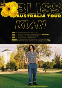 KIAN RELEASES GLORIOUS DEBUT EP 'BLISS' - FEATURING GLOBAL HIT 'WAITING'