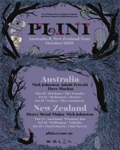 """Sydney's independent instrumental progressive solo artist,PLINI,announces his Australia and New Zealand headline tour in October.  The shows are a rare and intimate live set that has been honed around the world since his last national Australian tour in September 2018. The Australian shows will be supported byJAKUB ZYTECKI (POLAND), DAVE MACKAY (UK)andNICK JOHNSTON (CANADA)who is also performing the New Zealand leg withHEAVY METAL NINJAS (NZ). DAVE MACKAYwill also joinPLINI'Sset on keyboards for these shows.  Before each Australian show, Plini, Nick Johnston and Jakub Zytecki will be hosting a Masterclass and Q&A session with. This is a rare opportunity to get inside the minds of some of the world's premiere guitarists.  Tickets on sale Friday 24 May at 9am AEST time atplini.co/aus-nz  2017 and 2018 sawPLINIembark on highly successful headline tours of Europe, the UK, India, North America and Australia. These tours included dozens of sold out shows in some world's iconic small venues, including the Roxy Theatre in Los Angeles, Islington Assembly Hall in London and the Corner Hotel in Melbourne. This was followed by the release of the 'Sunhead' EP in mid-2018, and an ensuing world tour across Europe, North America, Asia, India and Australia.  PLINIhas been invited to be an instructor at the prestigious Vai Academy 5.0 in New York alongside Steve Vai, Joe Satriani, Devin Townsend and more.  Steve Vai describedPLINI'Scritically-acclaimed debut album 'Handmade Cities' as""""one of the finest, forward thinking, melodic, rhythmically and harmonically deep, evolution of rock/metal instrumental guitar records I have ever heard.""""And named """"Best Prog Guitarist in the world right now"""" by Music Radar in 2017.  PLINIcomposes, plays guitar, records, produces and manages his unique brand of instrumental progressive rock all from a bedroom studio. He has a signature guitar with Strandberg Guitars, and endorsement deals with Yahama Music, Dunlop, D'Addario and Fractal Audio.  These wil"""