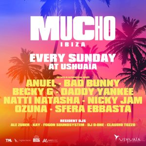 Ushuaïa hosts first open-air Latin event in Ibiza with Daddy Yankee, Becky G and more already locked in. USHUAÏA IBIZA BEACH HOTEL PLAYA D'EN BOSSA, IBIZA EVERY SUNDAY JUNE 16 - AUGUST 25 TICKETS ON SALE NOW LINE-UP (A-Z) ANUEL - BAD BUNNY - BECKY G - DADDY YANKEE NATTI NATASHA - NICKY JAM - OZUNA - SFERA EBBASTA  Ushuaïa Ibizawill go down in history on June 16th with the opening party of their new conceptMUCHO IBIZA, taking over the venue for the island's first open-air Latin event. The Night League, the team behind Ushuaïa Ibiza, set an incredible precedent for the new residency when they announced multi-award-winning singer and songwriterDaddy Yankeeas the opening show headliner. Today, they reveal the full line-up of acts who will appear across the 11 date residency, taking place everySunday from June 16th to August 25th.  MUCHO IBIZAwill see the world's biggest Latin artists perform live, from reggeaton hitmakerNicky Jamto the Latin icon and multifaced toplinerBecky G. The event will feature a spectacular production and a Latin party vibe throughout as onlyUshuaïa Ibizacan deliver, to perfectly compliment performances from the likes of reggaeton sensationBad Bunny,pioneer of the Latin Trap movementAnuel, and power womanNatti Natasha.The acclaimed force to be reckoned withOzunawill take over the poolside stage, along with Billion Hitz Money Gang memberSfera Ebbasta. Accompanied by the resident talentsAle Zuber,Kay,Fogon Soundsystem,DJ D-OneandClaudio Tozzo,MUCHO IBIZAplays host to the perfect mix of live performers and turntable legends.  Ushuaïa Ibiza's commitment to providing the island with a more diverse musical offering continues gets stronger each year. Latin music has grown from being one of the biggest genres in global dance music over the last 12 months with major labels and artists across the world adopting the style to secure global hits. Originating in the Caribbean and Latin America in the late '90s it has become a major force in the global music sc