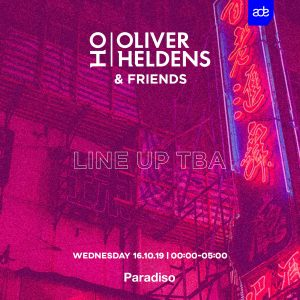 Dutch star Oliver Heldens gives the first glimpse of his Amsterdam Dance Event agenda, with plans to host a show at pop venue and nightclub Paradiso on Wednesday, October 16th. After the huge success of his sold-out 'Heldeep 5 World Tour', Heldens will bring his distinctive sound and inimitable show vibe back to the Netherlands. Heldens is returning his acclaimed ADE night to Paradiso this year, one of the biggest clubs in the bustling Leidseplein for what is set to be an unforgettable evening. Showcasing label mates and friends, a bass and future house catalogue is guaranteed, while revellers should also expect some exclusive new material. Oliver Heldens will headline the event, bringing all the classics with him and perhaps even a look at his tech house side as he dives into the darker sounds of techno on special occasions. Tickets will be on sale August 9th. Stay tuned via @oliverheldens for the full line-up announcement yet to come. More info Oliver Heldens: 23-year-old Dutch star Oliver Heldens, stands out from the crowd with his own distinctive sound, counting numerous No. 1 hits and over 1 billion cumulative streams to his name. As well as being one of the most talented producers in the game, and recently signed to RCA Records, he is also officially one of the world's favorite house DJs. His relentless tour schedule continues to place him at the forefront of the global DJ circuit bringing his eclectic, high-octane sound to over 2.5 million fans annually playing over 130+ shows including headlining and playing major festivals including Coachella, Tomorrowland, Lollapalooza, EDC, Ultra and more. Heldens will continue to release various club records through Heldeep Records as well as host his weekly radio show, Heldeep Radio, which is syndicated across 91 stations, in 66 countries and reaches 70 million people a week. More info Paradiso: Paradiso opened in 1968 and in fifty years time it became a pop venue, night club and cultural palace that attracts youngsters, audiences and artists from Amsterdam, The Netherlands, Europe and the rest of the world. However, some things have changed since the early days. From one of the few free-for-all places in the late sixties, Paradiso has changed into a professional venue where visitors can immerse themselves in the music. In those early days, Paradiso didn't yet cater for those who wanted to party all night long. Only since 1982, Paradiso has been the place in which DJs share their gospel to their dancing followers, contributing to the growing reputation as a nightclub alongside Amsterdam's rising fame as the international capital of dance music. CONNECT W/ OLIVER HELDENS
