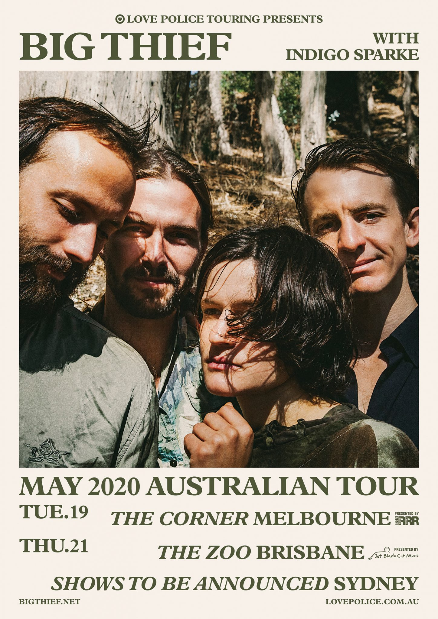 BIG THIEF Announce Australian live dates - May 2020 Two