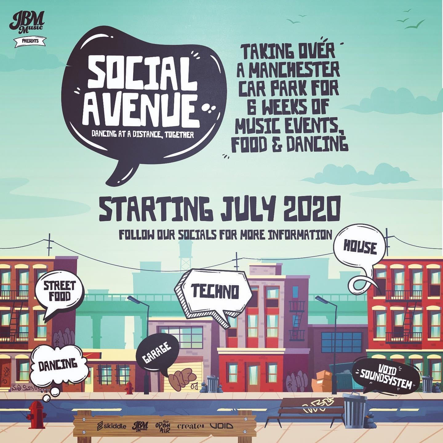 Dance at a Distance with brand new outdoor pop up series Social ...