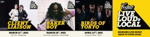 Coopers & Live Nation return once again with Live, Loud and Local - Client Liaison, Baker Boy & Birds Of Tokyo announced for next round