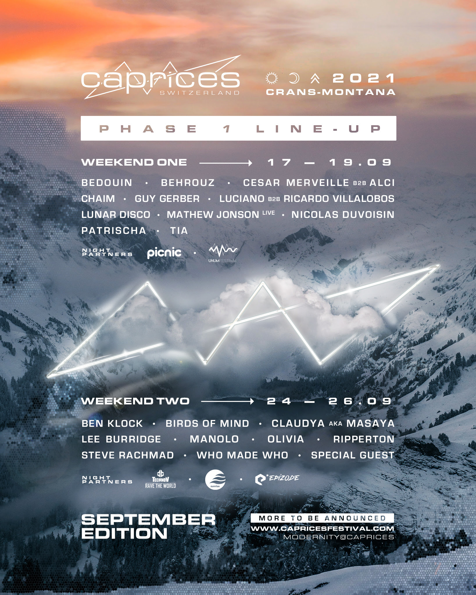 CAPRICES FESTIVAL REVEALS FIRST NAMES AND GLOBAL STAGE PARTNERS ...