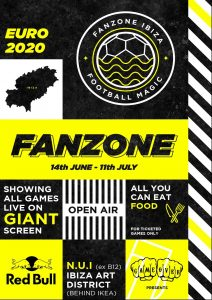 FANZONE IBIZA: New Open-Air venue launches with best island resident DJs, food and every game of Euros Game Over is back with something a little different to kick off the summer!