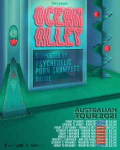 OCEAN ALLEY RESCHEDULE SHOWS AND ANNOUNCE NEW SHOW FORMATS FOR 2021 AUSTRALIAN TOUR